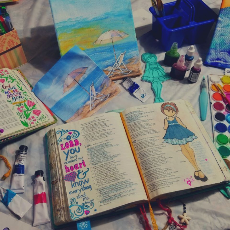 Bible Journaling Together - Tuesday, July 14, 6:30 PM