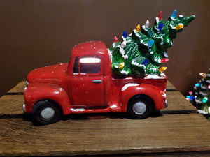 Ceramic Christmas Trucks & Trees - Tuesday, September 29