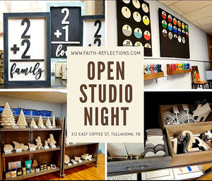 Open Studio Night - Tuesday, September 22, 6:30 PM