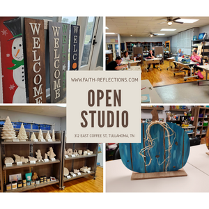Open Studio Class - Tuesday, December 15 6:00 PM