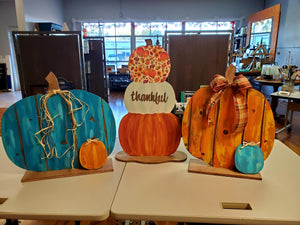 Wood Painting Class - October 22, Thursday, 6:00 PM