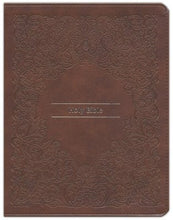 Load image into Gallery viewer, KJV Comfort Print Journal the Word Reference Bible (Imitation Leather, Brown)