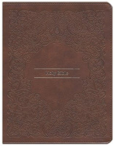 KJV Comfort Print Journal the Word Reference Bible (Imitation Leather, Brown)