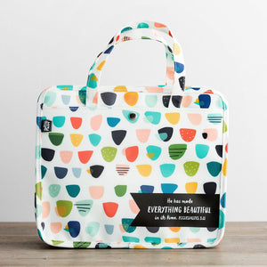 Bible Tote / Organizational Bag - Ecc 3:11 (Illustrated Faith)