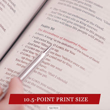 Load image into Gallery viewer, NKJV Single-column Reference Bible (Gray Cloth over Board)