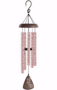 "Wind Chime - Sonnet - Amazing Grace (Rose Gold - 30"")"