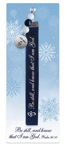 Bookmark w/Ribbon-Be Still, And Know That I Am God (Psalm 46:10 KJV)