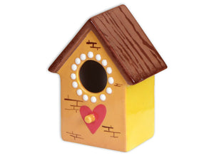 Ceramic Little Birdie House