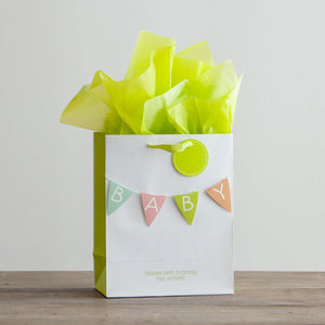 Baby - Medium Gift Bag with tissue