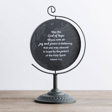 Load image into Gallery viewer, We're Blessed - Wooden Plaque with Metal Stand