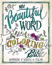 Load image into Gallery viewer, NIV Beautiful Word Coloring Bible (Hardcover)