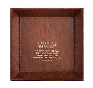 Faithful Servant Valet Tray