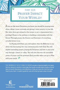 "Bible Study - ""Praying with Power"" (Mondays, 6:00 PM, starting March 22, 2021)"