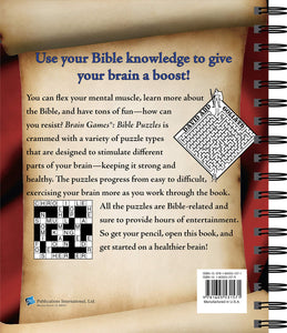 Bible Puzzles (Brain Games)