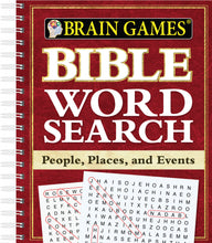 Load image into Gallery viewer, Bible Word Search - People, Places, and Events (Brain Games)