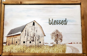 """Blessed"" - Original Artwork by Linda Crummer"