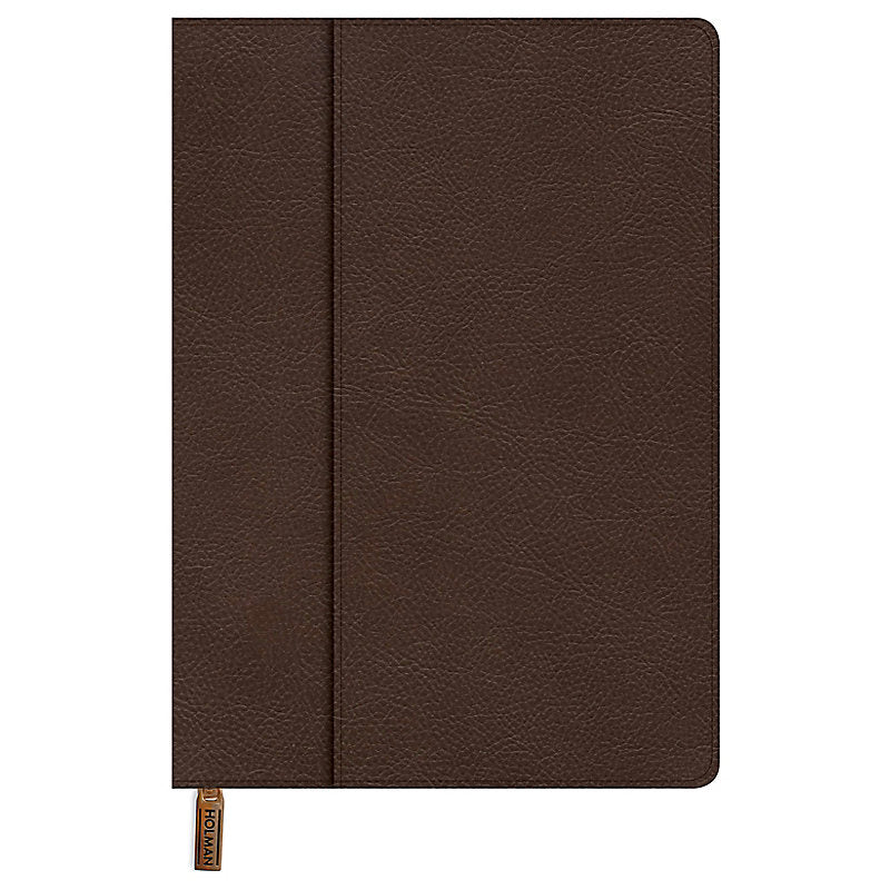 Medium Bible Cover - Brown Leathertouch