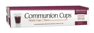 Communion - Cup (Plastic, 100 cups)
