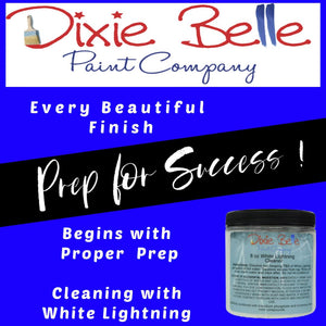 White Lightning Cleaner - 8 oz (Dixie Belle)