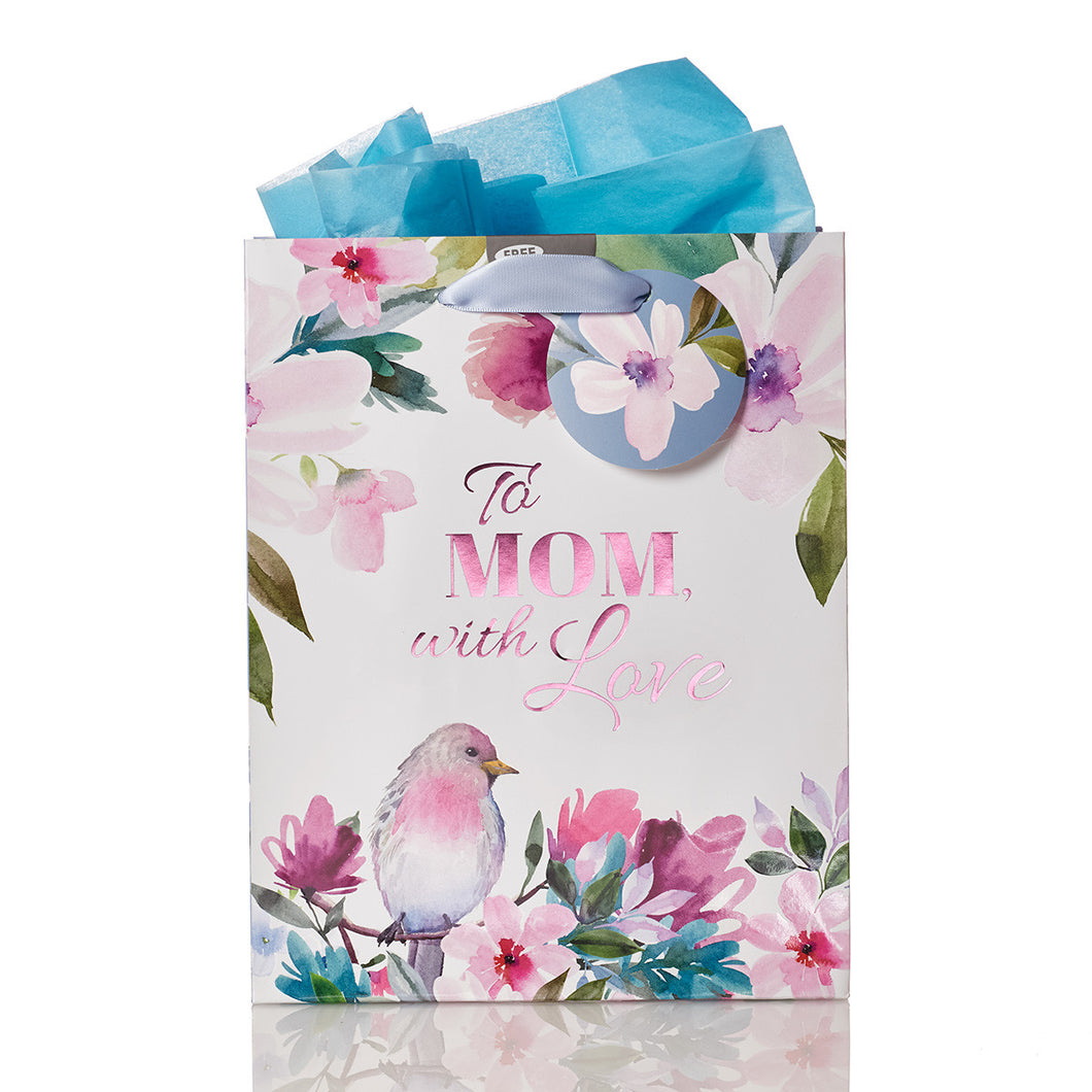 Gift Bag (Medium) - To Mom with Love