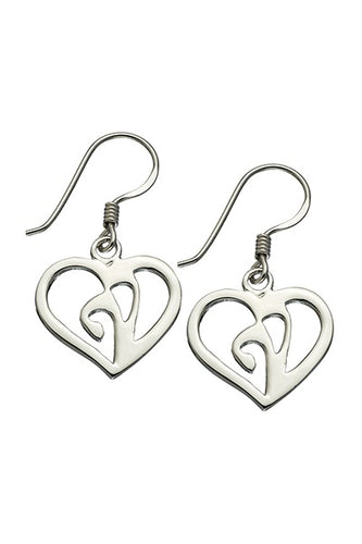 God in My Heart Earrings