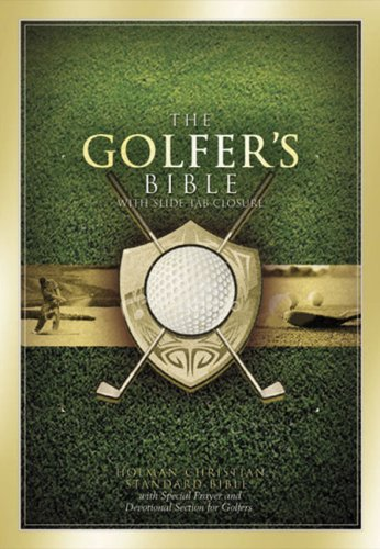 HCSB The Golfer's Bible (British Open Tan)