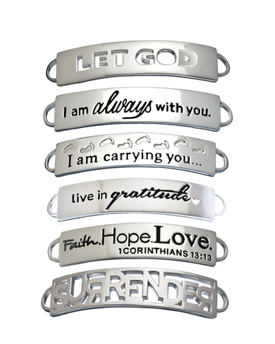 ID bracelets - Compelling Creations