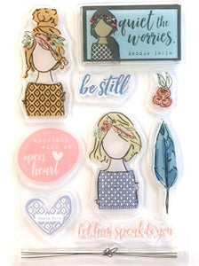 Stamps - Be Still (Illustrated Faith)