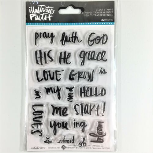 Stamps - Pray, Faith, God (Illustrated Faith)