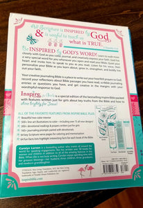 Inspire for Girls: The Bible for Coloring & Creative Journaling
