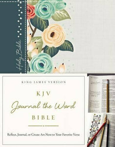 KJV Journal the Word Bible - Floral