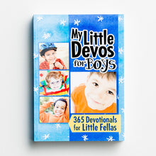 Load image into Gallery viewer, My Little Devos for Boys: 365 Devotionals for Little Fellas