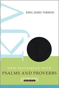 KJV New Testament with Psalms and Proverbs (Hendrickson)