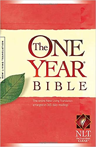 The One Year Bible: The entire New Living Translation arranged in 365 daily readings