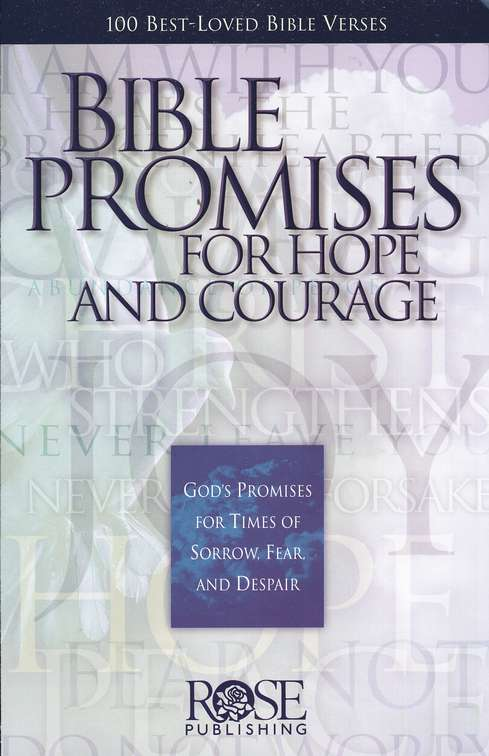 Pamphlet - Bible Promises for Hope and Courage