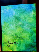 "Load image into Gallery viewer, Original Artwork by Linda Crummer - ""Peace"""