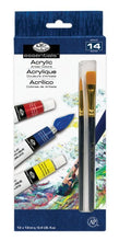 Load image into Gallery viewer, Acrylic Paint Set (14 pc)