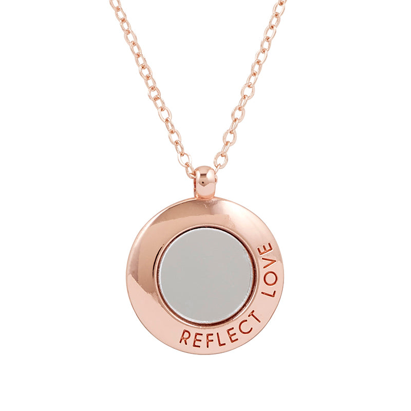 Reflect Love Mirror Necklace
