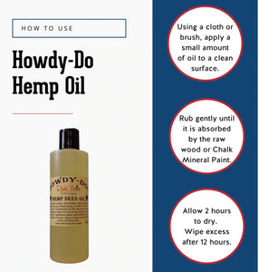 Howdy-Do Hemp Seed Oil (Dixie Belle)