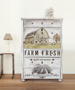 Redesign Decor Transfer - Out on the Farm (Prima)