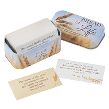 Load image into Gallery viewer, Bread of Life: 101 Promise Cards in a Tin