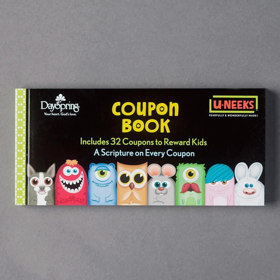 U-NEEKS - Reward Coupon Book for Kids