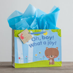 Oh, Boy! - Large Gift Bag with tissue