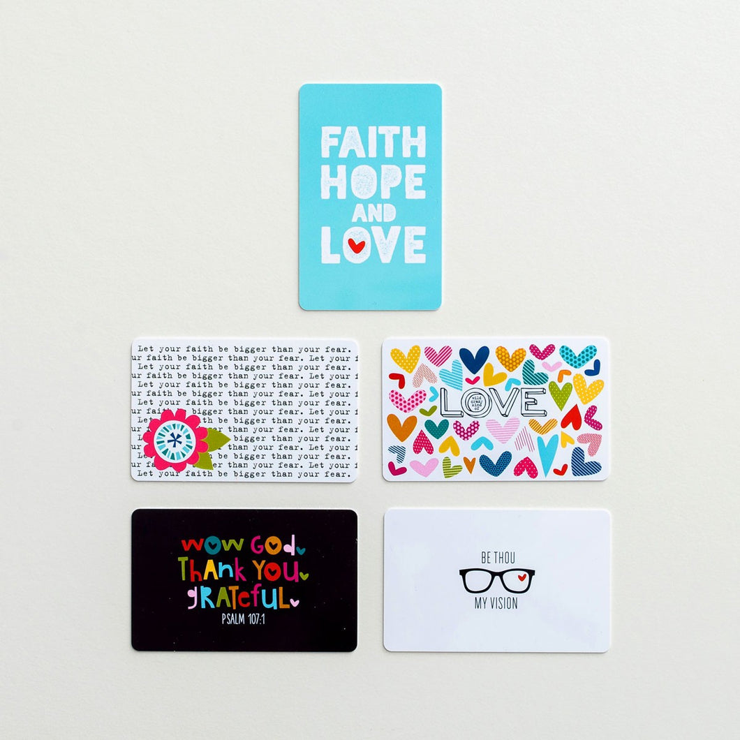 Paint Cards (Pack of 5 - Illustrated Faith)