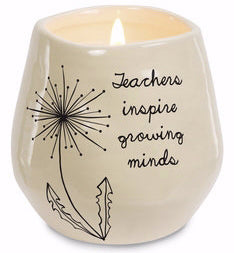 Candle - Teachers Inspire Growing Minds