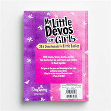 Load image into Gallery viewer, My Little Devos for Girls: 365 Devotionals for Little Ladies