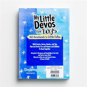 My Little Devos for Boys: 365 Devotionals for Little Fellas