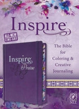 Load image into Gallery viewer, Inspire Praise - NLT Bible for Coloring and Creative Journaling