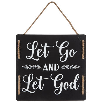 Sign - Let Go and Let God