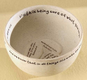 Prayer Bowl - Faith Stones